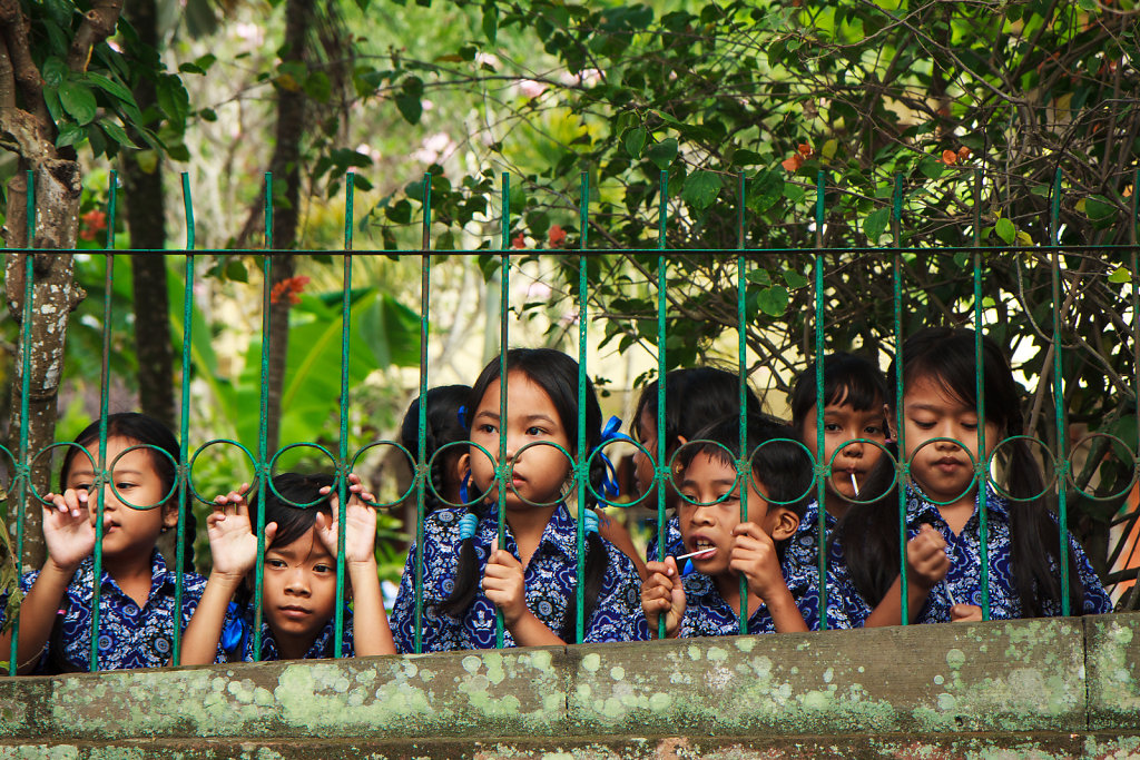 Students in Ubud